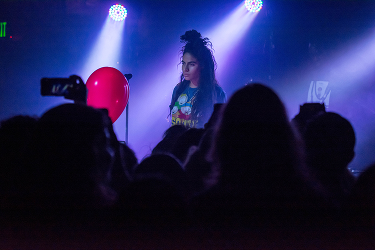 EGMN Venture/Francisco Casillas. Jessie Reyez performs during her Kiddo Tour at House of Blues, Houston, June 23, 2017.