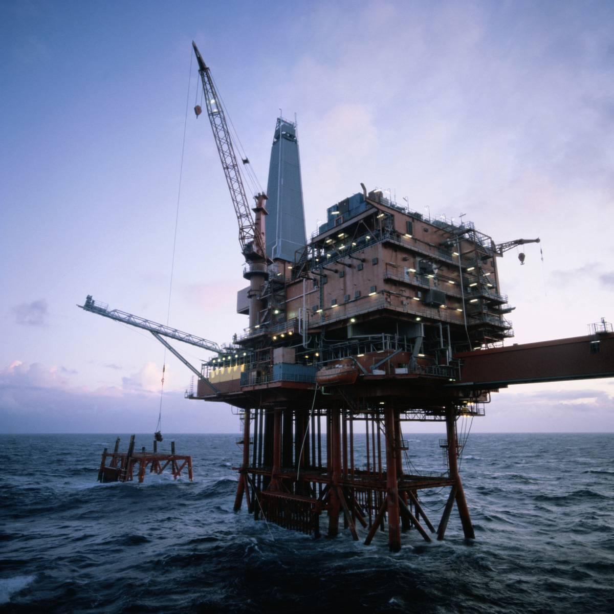 Oil Rig Petroleum Engineering