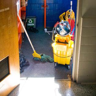university janitor