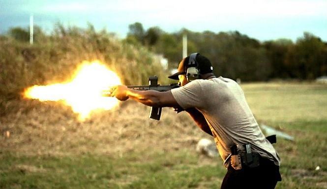 Noir considers himself an urban gun enthusiast.