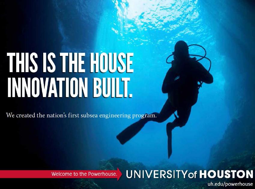 University of houston powerhouse subsea engineering