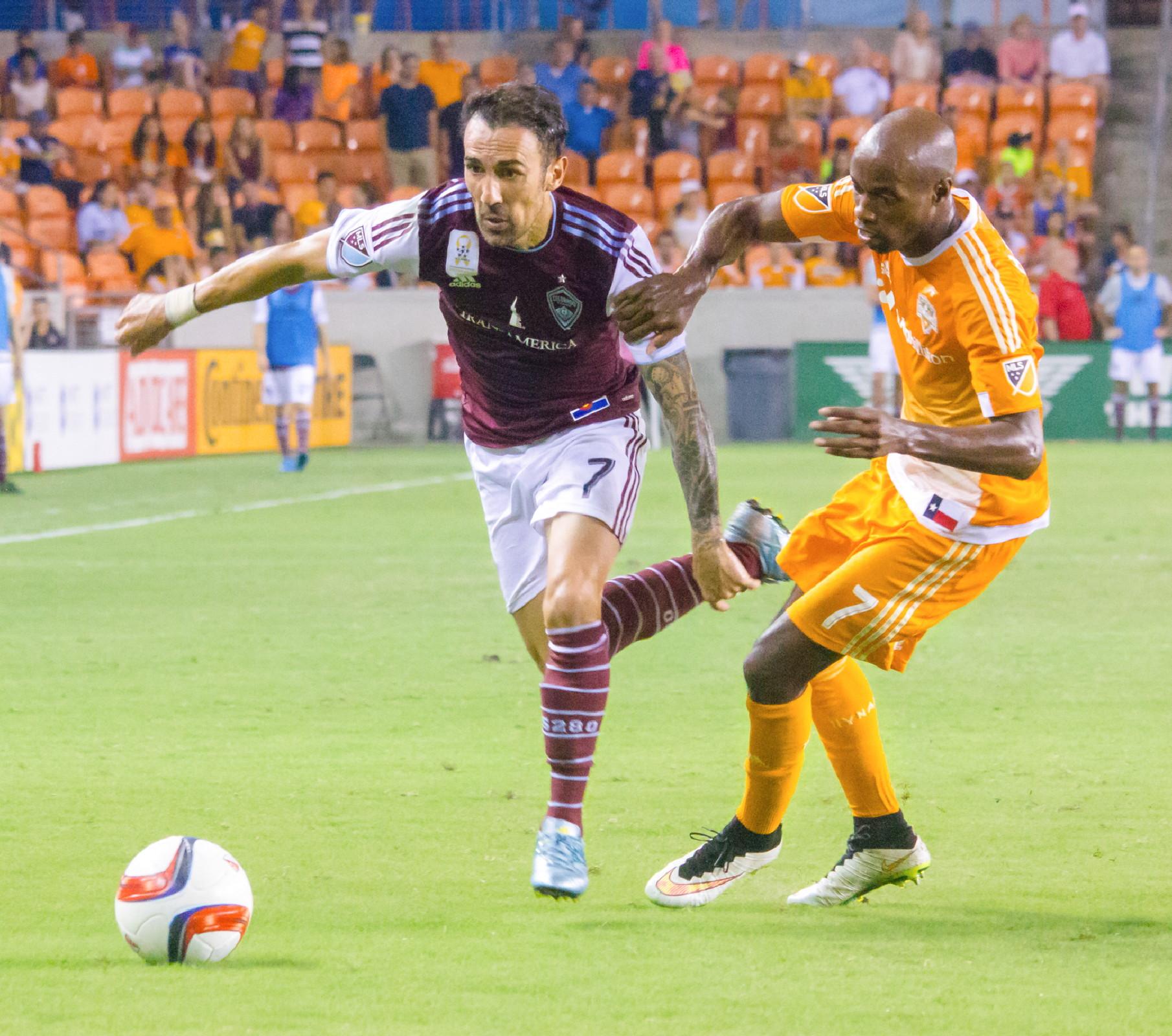 Dynamo: Dynamo Soccer: Houston Dynamo Vs Colorado Rapids (Photo