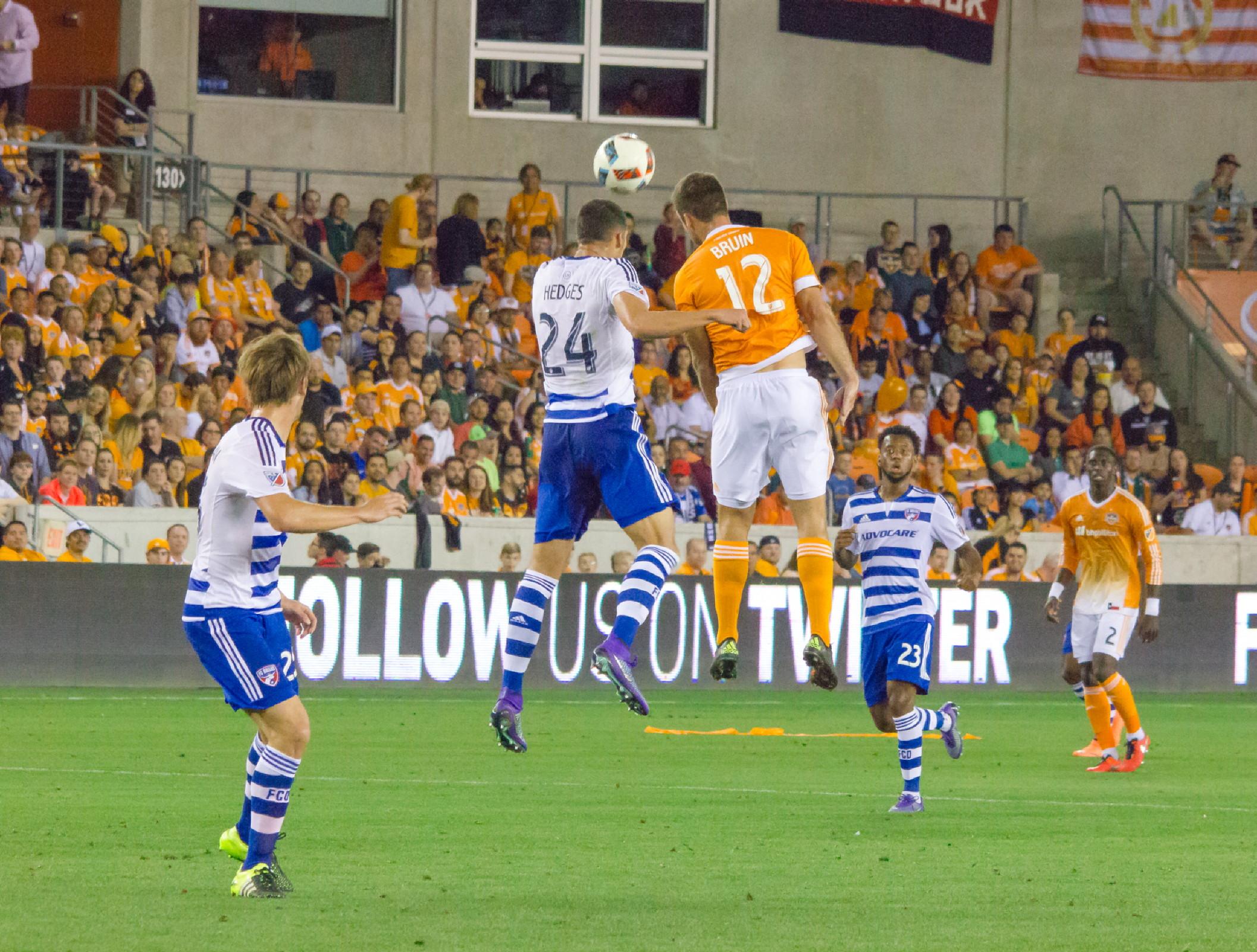 mls soccer houston dynamo vs fc dallas photo gallery the venture