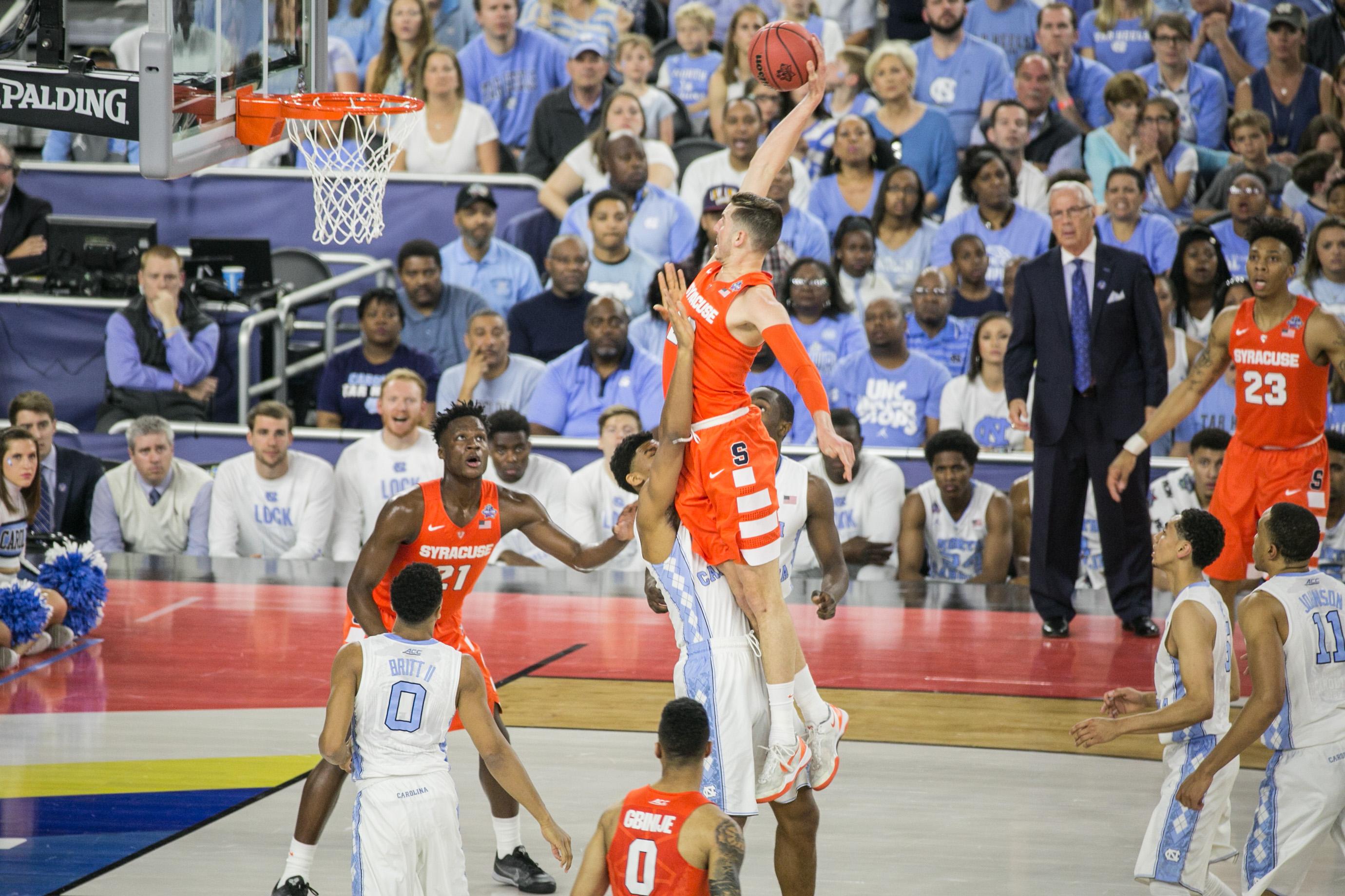 Ncaa Final Four 10 Syracuse Vs 1 North Carolina Photo Gallery