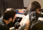 Tattoo artist offers live tattooing and piercings. Photo: Jordan Hernandez, the Venture