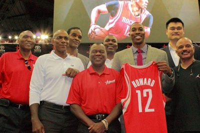 Howard is the latest in great Rockets big men
