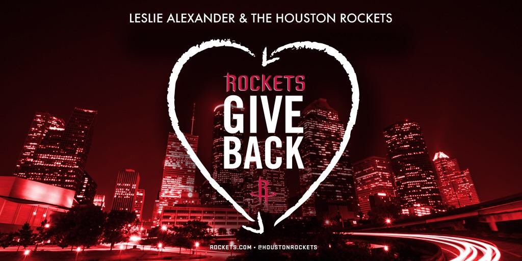 Rockets owner Alexander pledges $4 million for Harvey relief