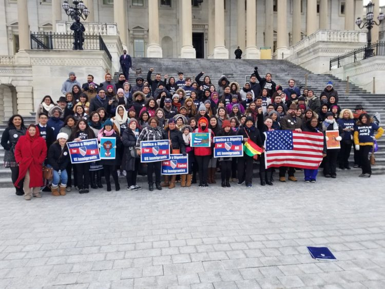 Dreamers lobby congress 2018